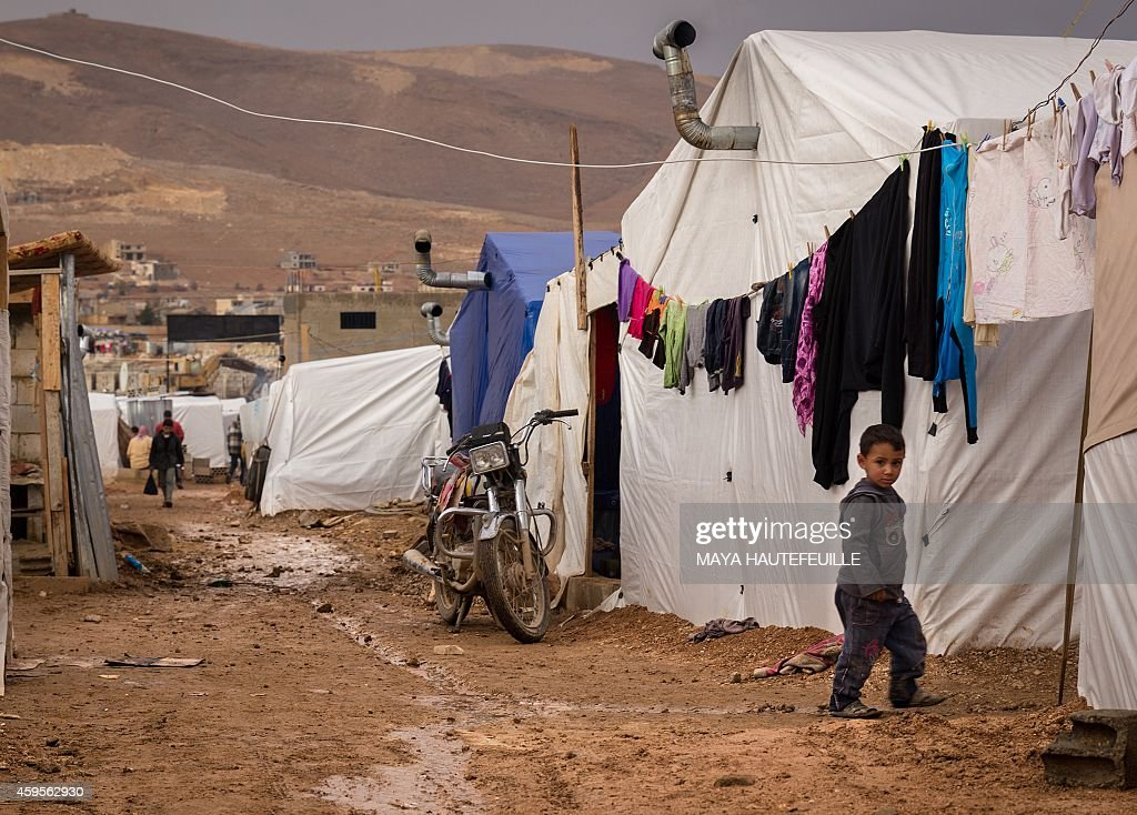 LEBANON-SYRIA-CONFLICT-REFUGEE : News Photo