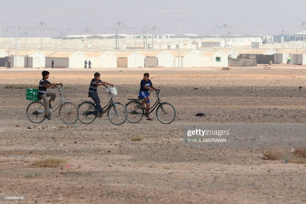 JORDAN-SYRIA-UN-REFUGEE : News Photo