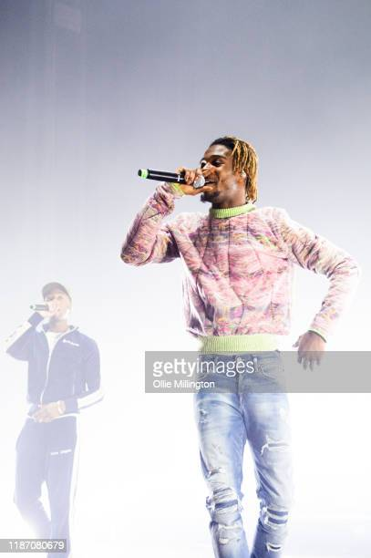 Young T and Bugsey perform at O2 Academy Brixton on November 10, 2019 in London, England.
