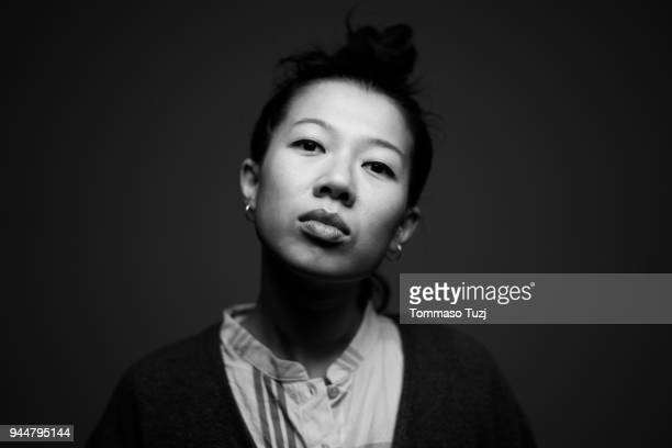 young taiwanese girl portrait - black and white stock pictures, royalty-free photos & images
