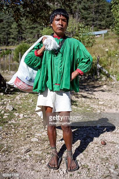 Young Tarahumara Native American Man