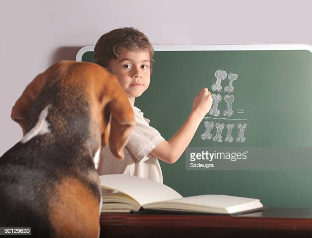 Young Teacher And Special Pupil