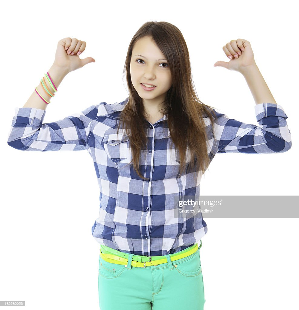 Beugen über sich Teens Junge Bewegungsspiele