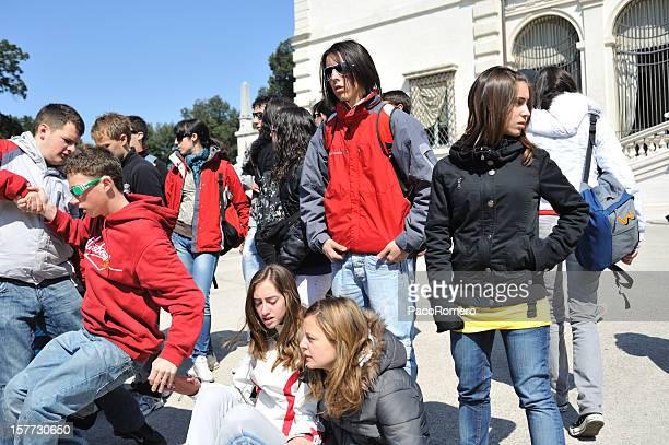 Giovani adolescenti in Italia