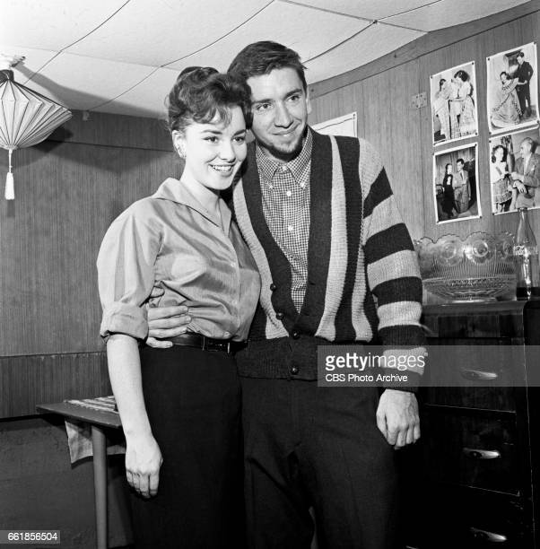 Young television actors Gigi Perreau and Bob Denver on a date in Hollywood CA Gigi Perreau is a regular cast member on The Betty Hutton Show and Bob...