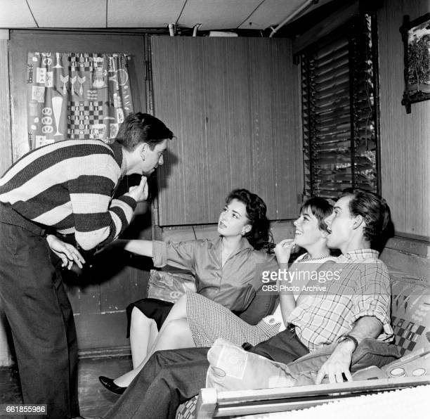 Young television actors on a double date Bob Denver and Gigi Perreau on a double date with Marlene Willis and Richard Miles Bob Denver is a cast...