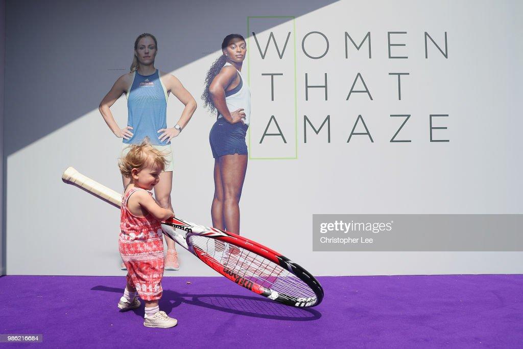 WTA Tennis On The Thames : News Photo