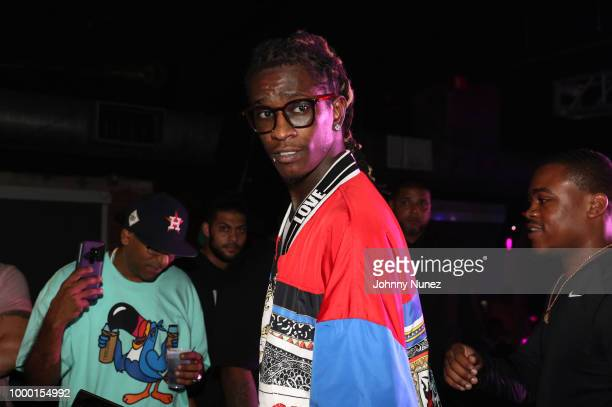 Casanova Duke and Young Thug attend FREQ NYC on July 15 2018 in New York City