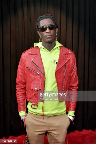 Young Thug attends the 61st Annual GRAMMY Awards at Staples Center on February 10 2019 in Los Angeles California