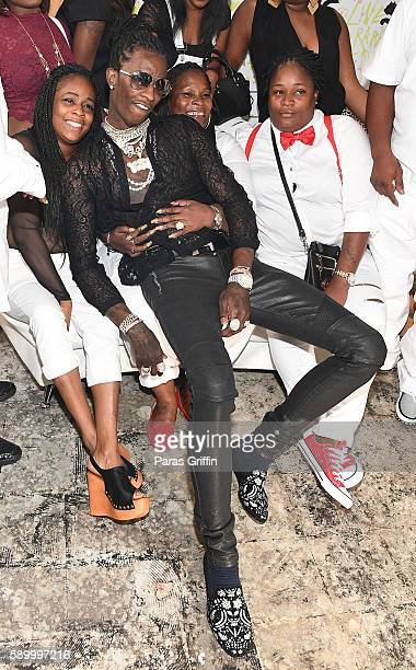 Young Thug attends Young Thug aka Jeffery's Birthday Celebration at Gallery 874 on August 15 2016 in Atlanta Georgia