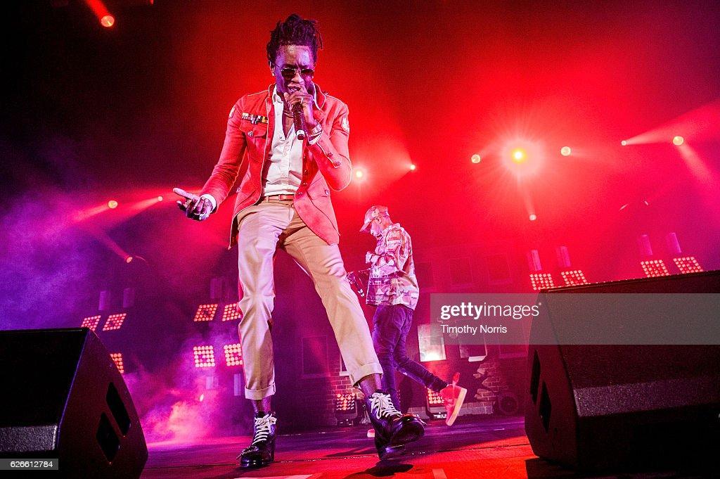 Young Thug Performs At Shrine Expo Hall : News Photo