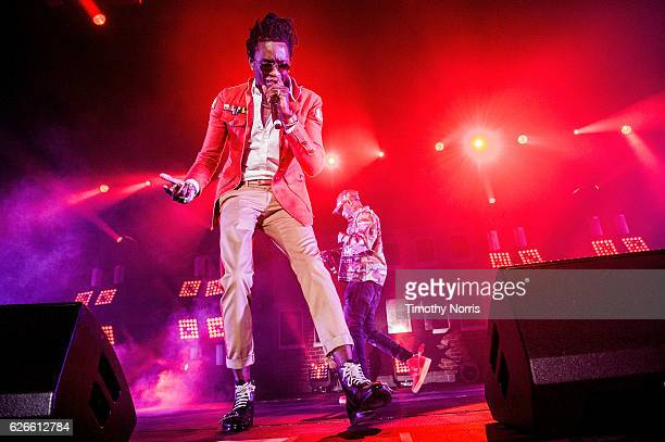 Young Thug performs at The Shrine Expo Hall on November 29 2016 in Los Angeles California