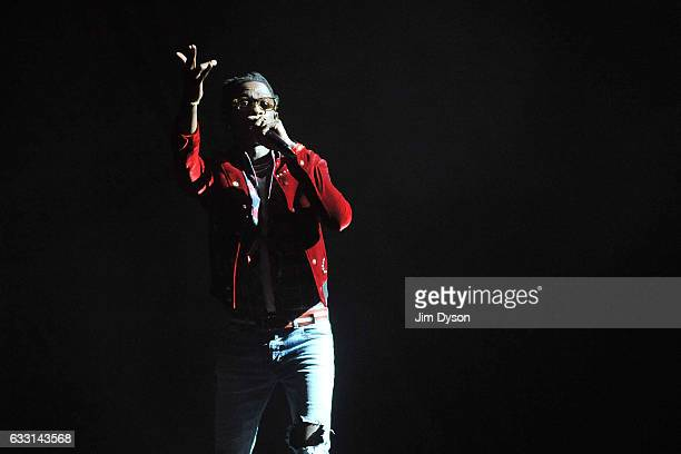 Young Thug performs live on stage at The O2 Arena on January 30 2017 in London United Kingdom