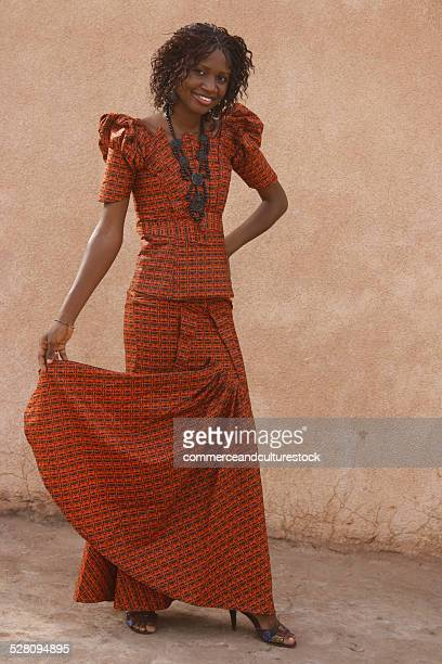 a young top model presenting a fashion design - child super models stock pictures, royalty-free photos & images