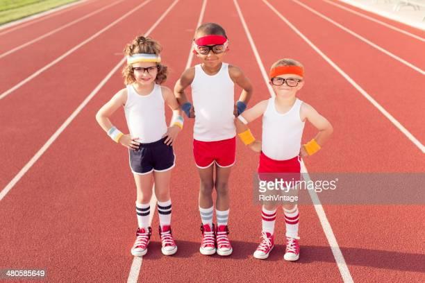 Joven equipo de pista