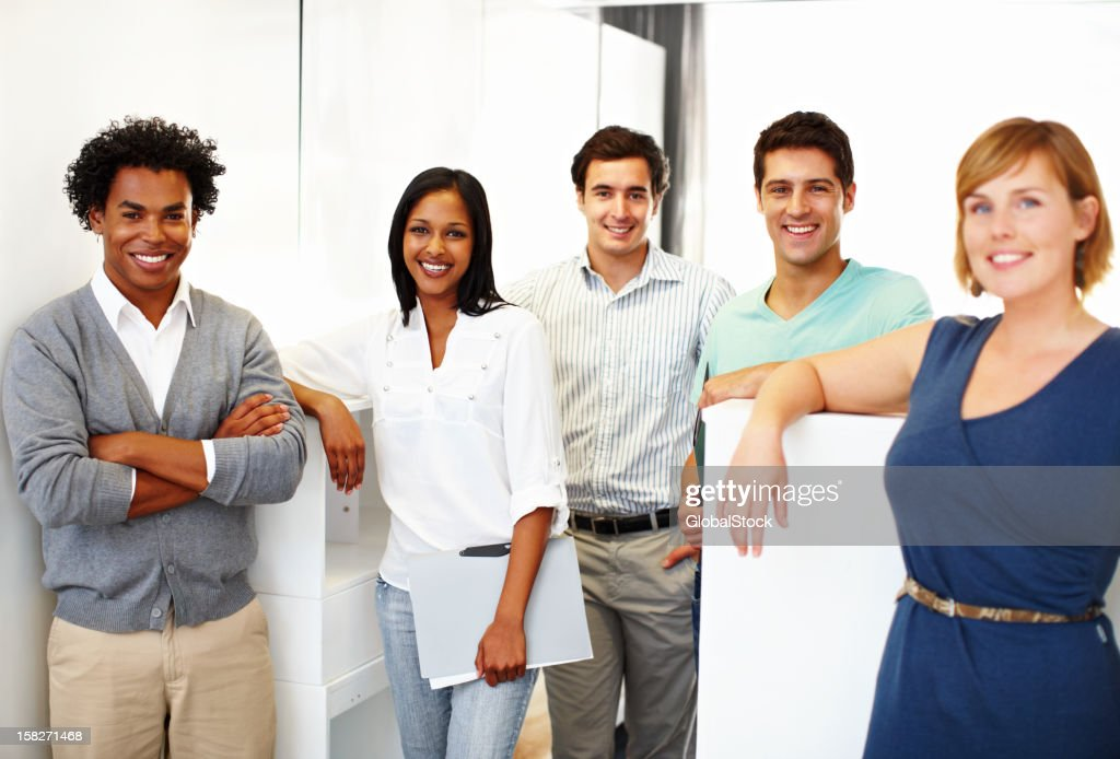 Young, trendy design gurus : Stock Photo