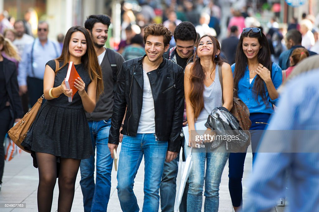 Young Turkish people : Stock Photo