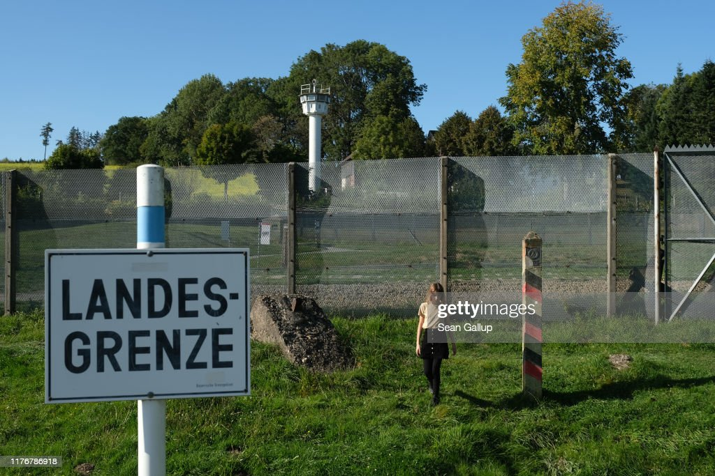 30 Years Since The Fall Of The Berlin Wall: Remnants Of The Fortified DDR Border : News Photo