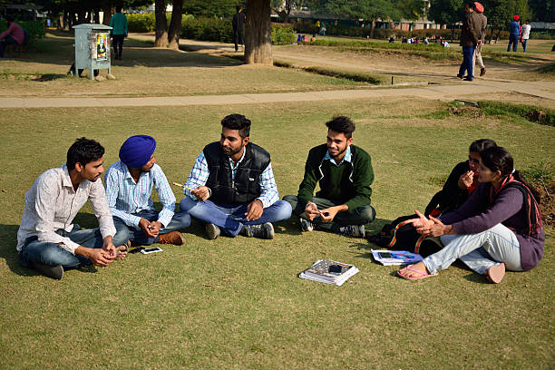 Young voters at Punjabi University on December 18 2015 in Patiala India Punjab will go to the Assembly polls next year What conventionally has been a.