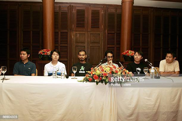 Young waves of the Thailand movie industry directors Parkpoon Wongpoon Banjong PisanthanakunKhomkrit TreewimotranslaterThunska Pansittivorakul and...