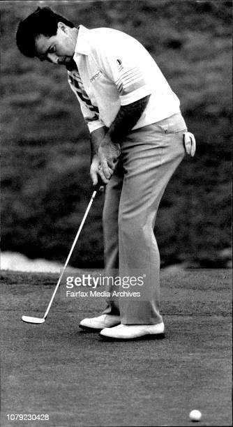 Young West Australian golfer Craig Parry December 1 1990