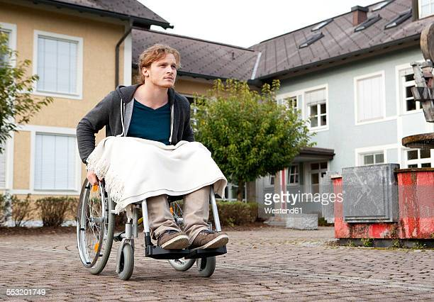 Young wheelchair user