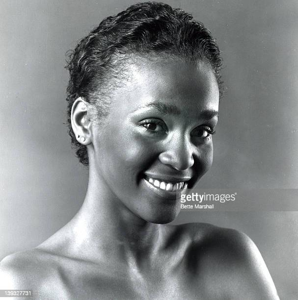 A young Whitney Houston during a portrait session circa 1980 in New York City