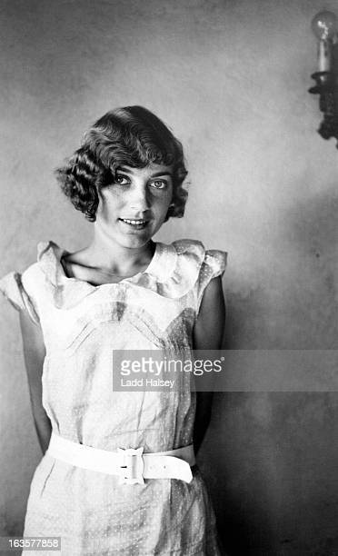 young woman 1930