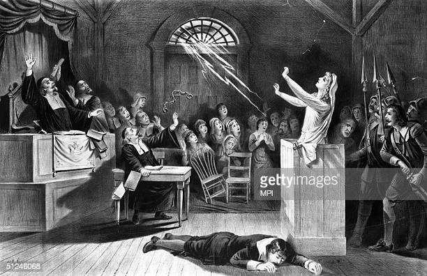 1692 A young woman accused of witchcraft by Puritan ministers appeals to Satan to save her