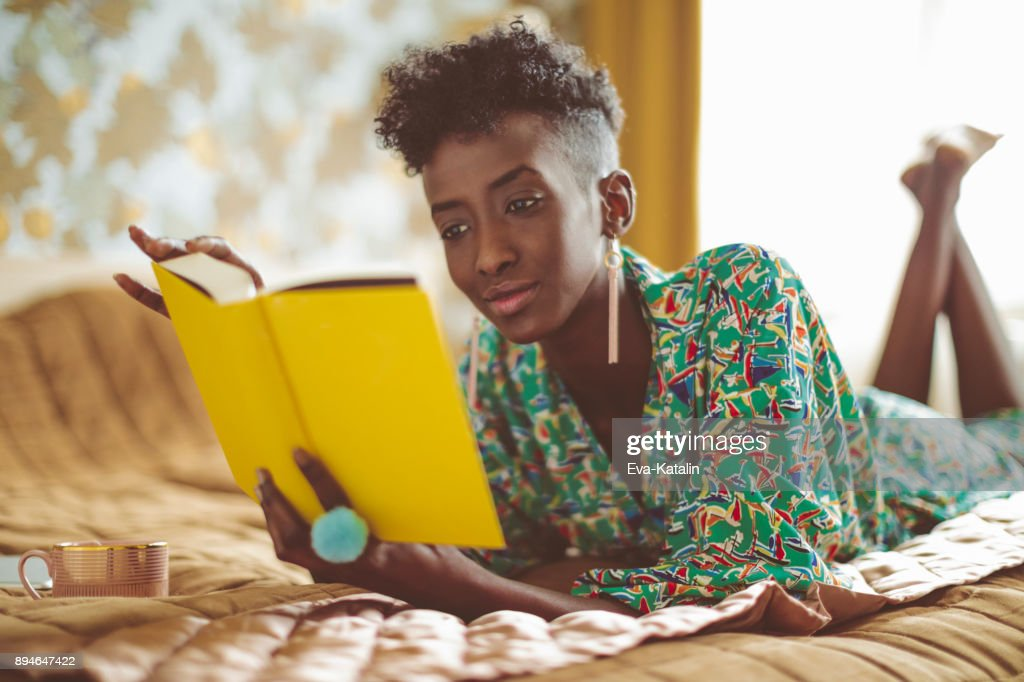 Young woman at home : Stock Photo