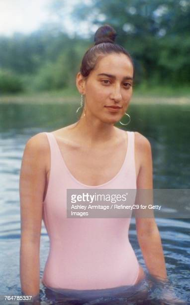 Young Woman At The Lake