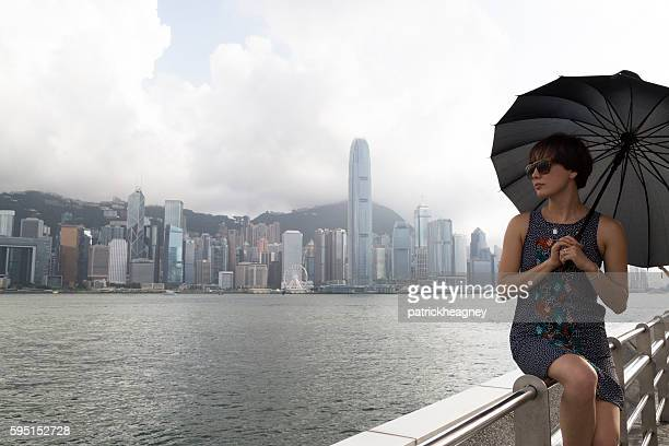 Young Woman at Victoria Harbour
