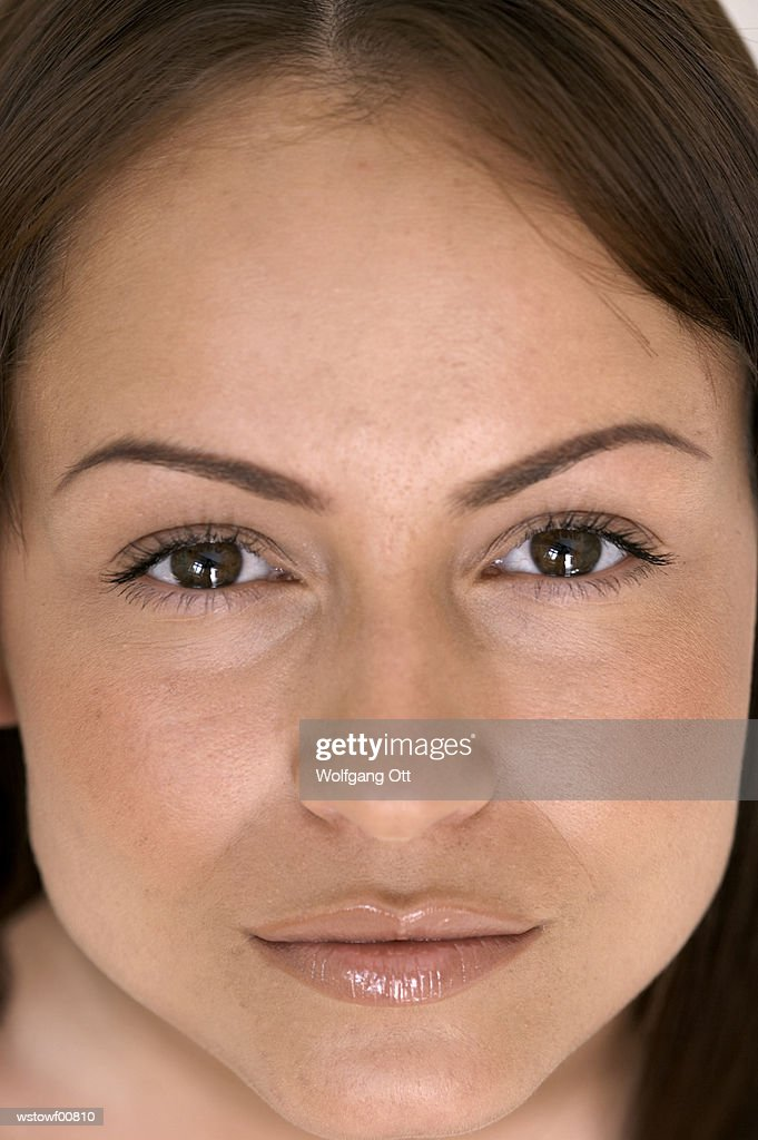 Young woman, close up : Stock Photo