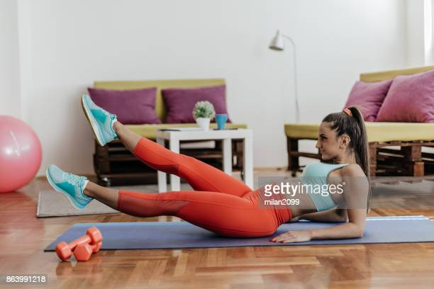Woman Sexy Abs Stock Photos And Pictures  Getty Images-9614