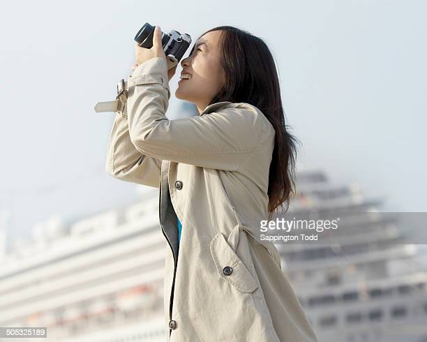 Young Woman Doing Photography