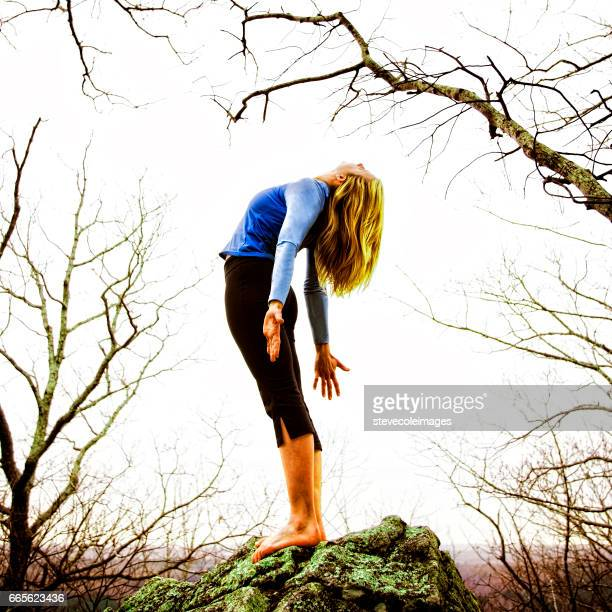 27 Seated Mountain Pose Photos And Premium High Res Pictures Getty Images