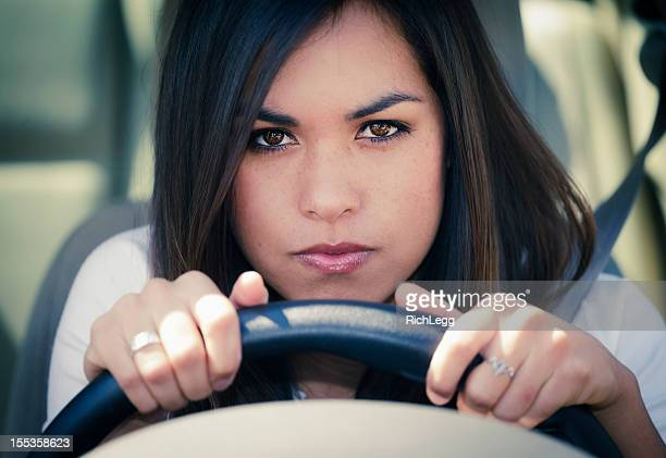 Young Woman Driver