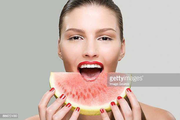 60 Top Watermelon Face Pictures Photos Images Getty Images