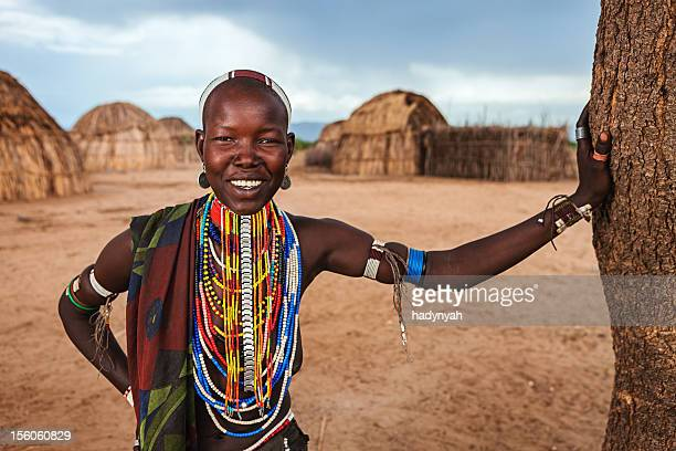 Young woman from Erbore tribe, Ethiopia, Africa