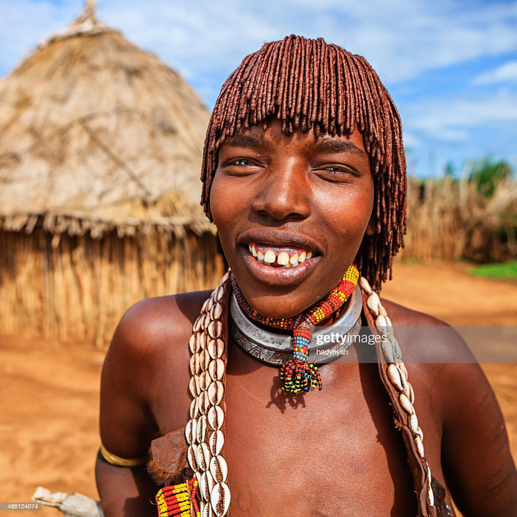 Hamer tribe woman - Ethiopia | The hairstyle she wears