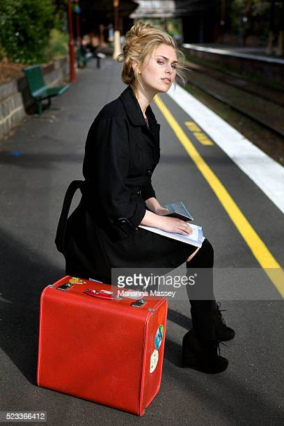 Young woman going on a trip