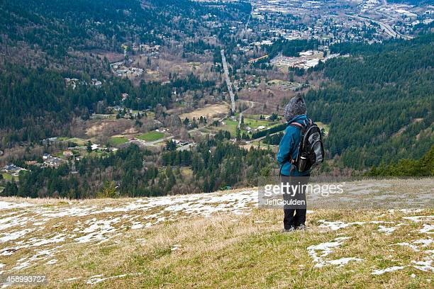 Hiker Enjoying the View