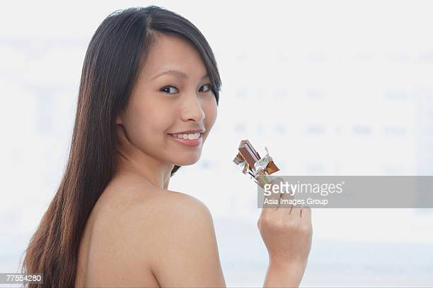 Naked Women Chocolate Stock Photos And Pictures  Getty Images-5074