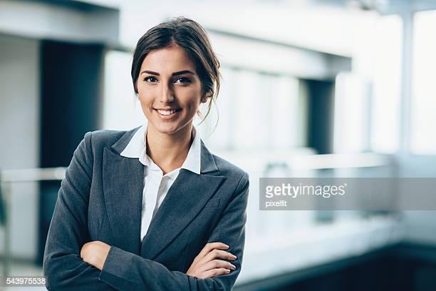 若い女性のビジネス