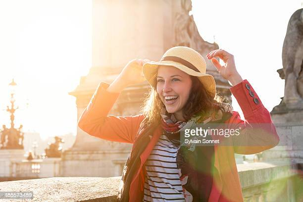 Young Woman in paris
