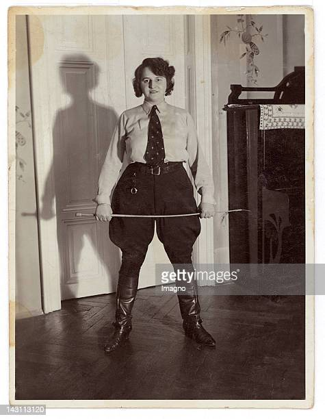 Young woman in uniform Germany Photograph 1938
