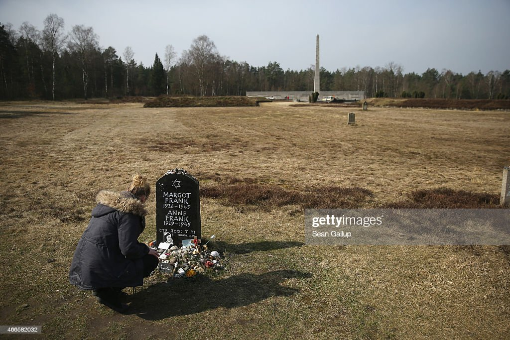 Bergen-Belsen Concentration Camp Liberation 70th Anniversary Nears : News Photo
