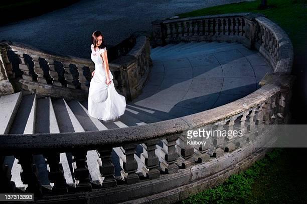 若い女性の宮殿ステアズます。