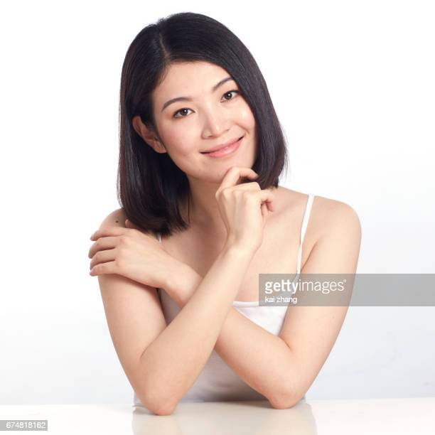 young woman - asian model stock photos and pictures