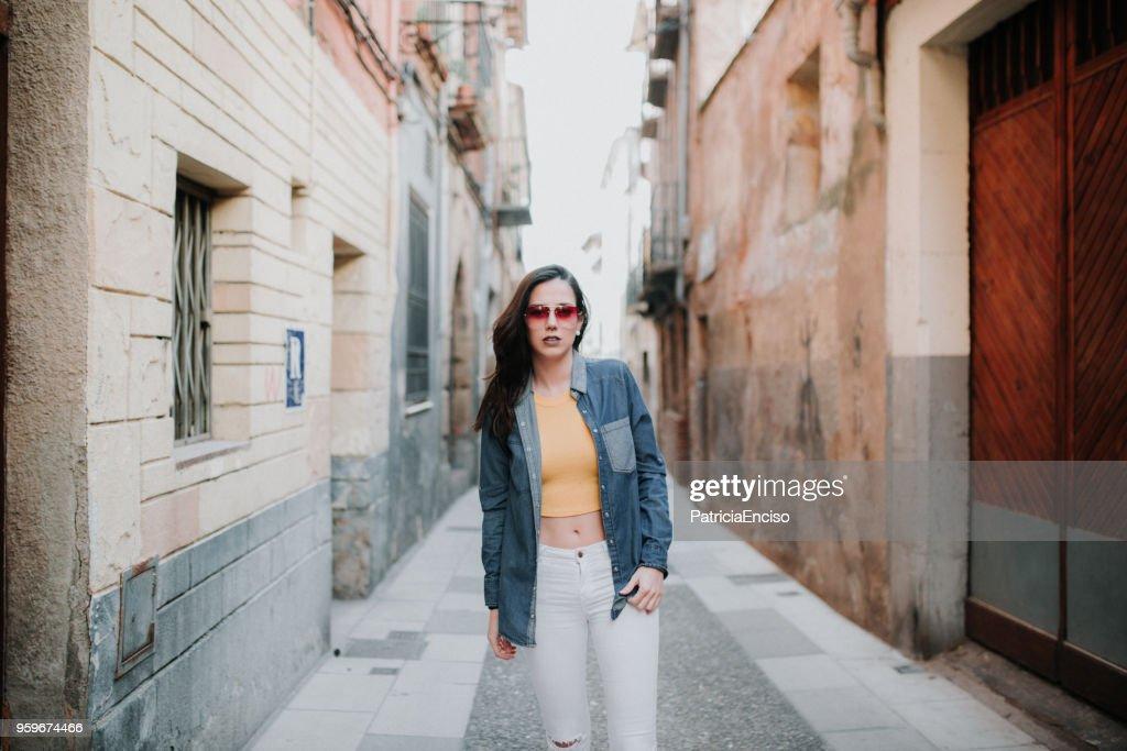 Junge Frau Porträt  : Stock-Foto